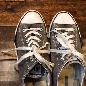 Converse All Star Low Top Gray Shoes